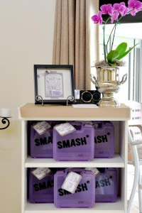 SMASH themed Scrapbooking birthday party via Kara's Party Ideas KarasPartyIdeas.com #scrapbooking #party #ideas #get #together #girls #night #birthday #theme #supplies #shop #idea (4)
