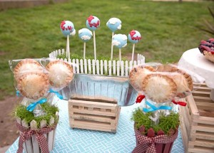 Vintage Barnyard + Kite Party via Kara's Party Ideas | KarasPartyIdeas.com #barnyard #kite #birthday #party (22)