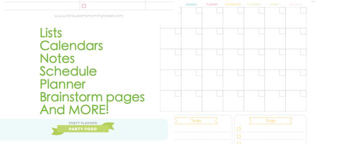 FREE printable PARTY PLANNER via Kara's Party Ideas! KarasPartyIdesa.com #free #printable #party #planner #ideas #download (8)