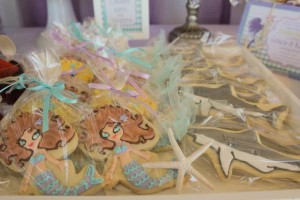 Whimsical Mermaid Birthday Party via Kara's Party Ideas | KarasPartyIdeas.com #mermaid #birthday #party #ideas #cake #supplies (31)