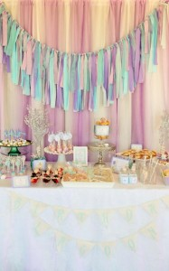 Whimsical Mermaid Birthday Party via Kara's Party Ideas | KarasPartyIdeas.com #mermaid #birthday #party #ideas #cake #supplies (14)