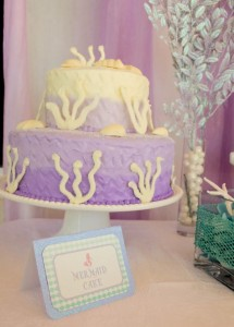 Whimsical Mermaid Birthday Party via Kara's Party Ideas | KarasPartyIdeas.com #mermaid #birthday #party #ideas #cake #supplies (23)