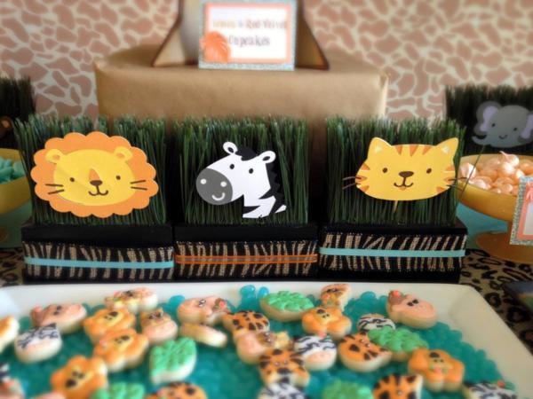 Jungle Safari Party via Kara's Party Ideas | KarasPartyIdeas.com #jungle #safari #animal #wild #child #party #ideas (10)