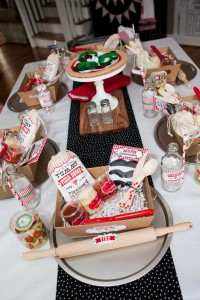 Pizzeria Little Chef themed pizza party via Kara's Birthday Party Ideas KarasPartyIdeas.com #little #chef #pizza #pizzeria #themed #boy #party #ideas #cake #idea #printables #supplies #decorations #kids #activities #favors (129)