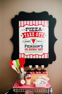 Pizzeria Little Chef themed pizza party via Kara's Birthday Party Ideas KarasPartyIdeas.com #little #chef #pizza #pizzeria #themed #boy #party #ideas #cake #idea #printables #supplies #decorations #kids #activities #favors (124)