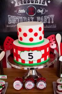 Pizzeria Little Chef themed pizza party via Kara's Birthday Party Ideas KarasPartyIdeas.com #little #chef #pizza #pizzeria #themed #boy #party #ideas #cake #idea #printables #supplies #decorations #kids #activities #favors (109)