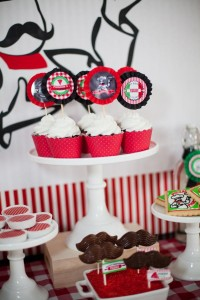 Pizzeria Little Chef themed pizza party via Kara's Birthday Party Ideas KarasPartyIdeas.com #little #chef #pizza #pizzeria #themed #boy #party #ideas #cake #idea #printables #supplies #decorations #kids #activities #favors (100)