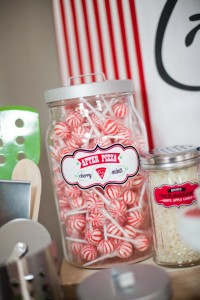 Pizzeria Little Chef themed pizza party via Kara's Birthday Party Ideas KarasPartyIdeas.com #little #chef #pizza #pizzeria #themed #boy #party #ideas #cake #idea #printables #supplies #decorations #kids #activities #favors (96)