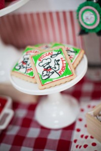 Pizzeria Little Chef themed pizza party via Kara's Birthday Party Ideas KarasPartyIdeas.com #little #chef #pizza #pizzeria #themed #boy #party #ideas #cake #idea #printables #supplies #decorations #kids #activities #favors (93)