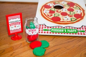 Pizzeria Little Chef themed pizza party via Kara's Birthday Party Ideas KarasPartyIdeas.com #little #chef #pizza #pizzeria #themed #boy #party #ideas #cake #idea #printables #supplies #decorations #kids #activities #favors (58)