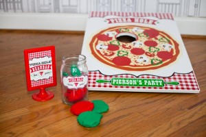 Pizzeria Little Chef themed pizza party via Kara's Birthday Party Ideas KarasPartyIdeas.com #little #chef #pizza #pizzeria #themed #boy #party #ideas #cake #idea #printables #supplies #decorations #kids #activities #favors (57)