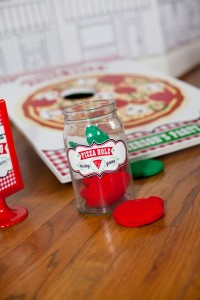 Pizzeria Little Chef themed pizza party via Kara's Birthday Party Ideas KarasPartyIdeas.com #little #chef #pizza #pizzeria #themed #boy #party #ideas #cake #idea #printables #supplies #decorations #kids #activities #favors (56)