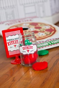 Pizzeria Little Chef themed pizza party via Kara's Birthday Party Ideas KarasPartyIdeas.com #little #chef #pizza #pizzeria #themed #boy #party #ideas #cake #idea #printables #supplies #decorations #kids #activities #favors (55)