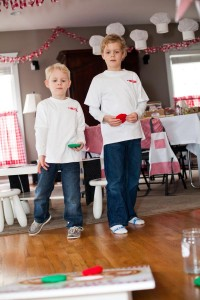 Pizzeria Little Chef themed pizza party via Kara's Birthday Party Ideas KarasPartyIdeas.com #little #chef #pizza #pizzeria #themed #boy #party #ideas #cake #idea #printables #supplies #decorations #kids #activities #favors (54)