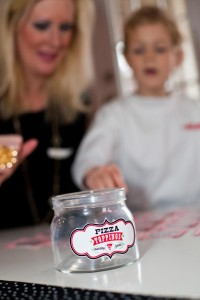 Pizzeria Little Chef themed pizza party via Kara's Birthday Party Ideas KarasPartyIdeas.com #little #chef #pizza #pizzeria #themed #boy #party #ideas #cake #idea #printables #supplies #decorations #kids #activities #favors (49)
