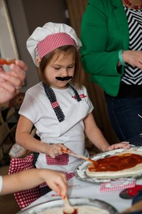 Pizzeria Little Chef themed pizza party via Kara's Birthday Party Ideas KarasPartyIdeas.com #little #chef #pizza #pizzeria #themed #boy #party #ideas #cake #idea #printables #supplies #decorations #kids #activities #favors (28)