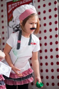Pizzeria Little Chef themed pizza party via Kara's Birthday Party Ideas KarasPartyIdeas.com #little #chef #pizza #pizzeria #themed #boy #party #ideas #cake #idea #printables #supplies #decorations #kids #activities #favors (15)