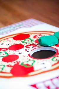 Pizzeria Little Chef themed pizza party via Kara's Birthday Party Ideas KarasPartyIdeas.com #little #chef #pizza #pizzeria #themed #boy #party #ideas #cake #idea #printables #supplies #decorations #kids #activities #favors (14)