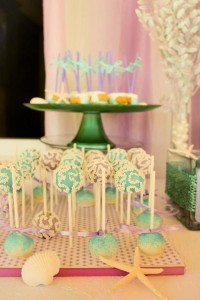 Whimsical Mermaid Birthday Party via Kara's Party Ideas | KarasPartyIdeas.com #mermaid #birthday #party #ideas #cake #supplies (8)