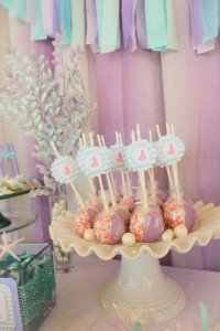 Whimsical Mermaid Birthday Party via Kara's Party Ideas | KarasPartyIdeas.com #mermaid #birthday #party #ideas #cake #supplies (5)