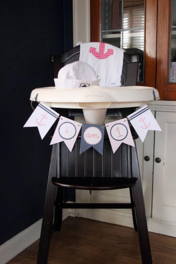 Sailor Girl Nautical Birthday Party via Kara's Party Ideas | KarasPartyIdeas.com #sailor #nautical #girl #navy #party #ideas (26)