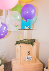 Mod Safari Wild Animal themed birthday party for a girl via Kara's Party Ideas | KarasPartyIdeas.com #modern #animal #wild #safari #jungle #mod #birthday #party #girl #ideas #cake #supplies #decoration #idea (20)