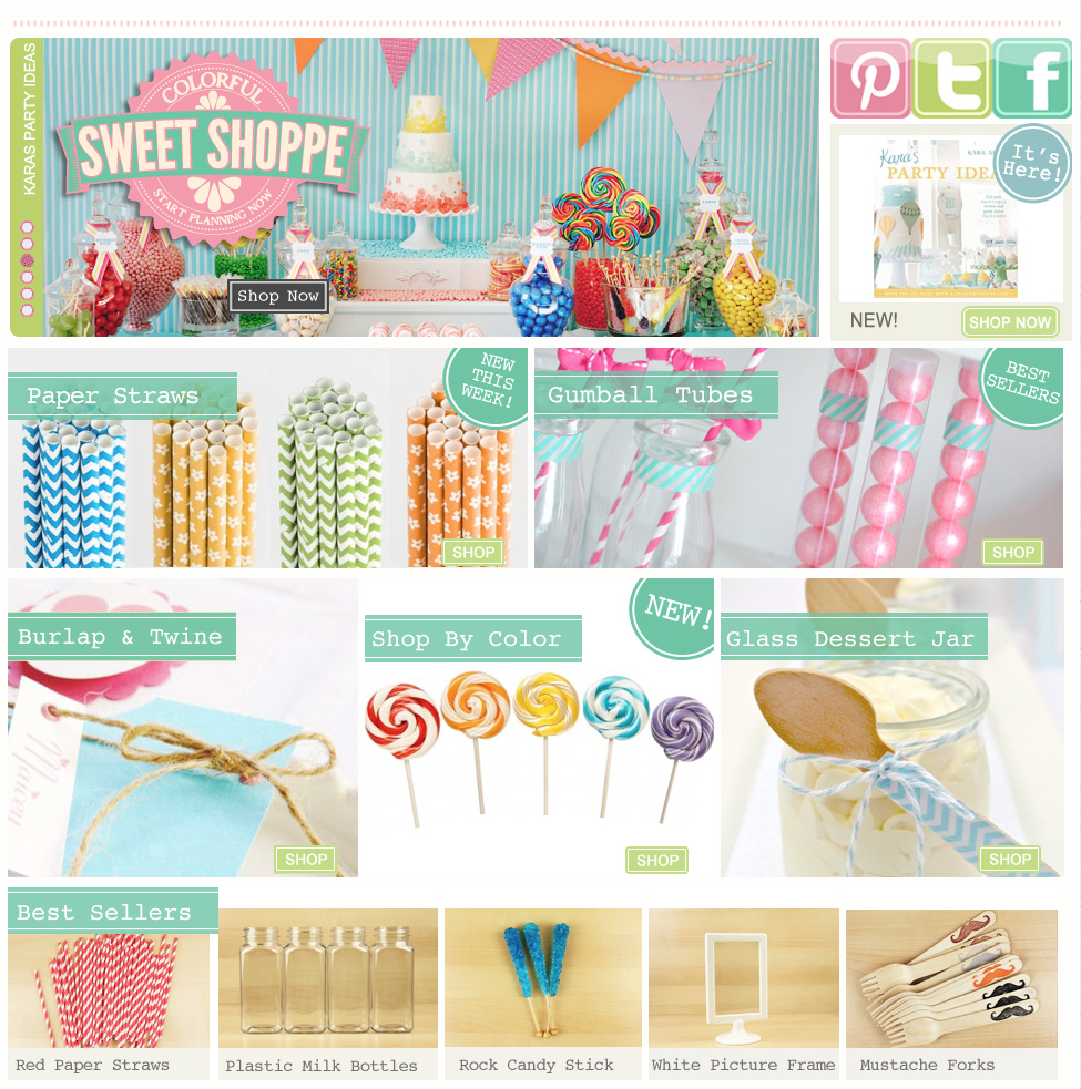karas party ideas shop karaspartyideascomshop party supplies online - Party Products