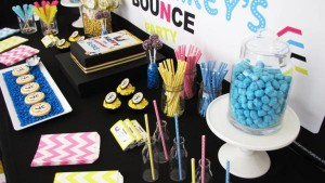 Bounce Party via Kara's Party Ideas | KarasPartyIdeas.com #trampoline #bounce #jump #party #ideas (9)