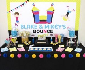 Bounce Party via Kara's Party Ideas | KarasPartyIdeas.com #trampoline #bounce #jump #party #ideas (7)