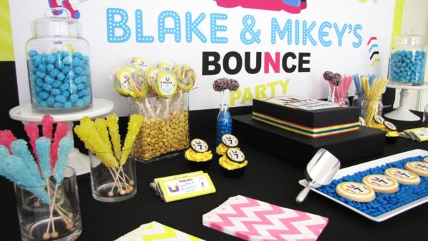 Bounce Party via Kara's Party Ideas | KarasPartyIdeas.com #trampoline #bounce #jump #party #ideas (1)