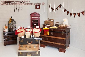 Harry Potter themed birthday party idea via Kara's Party Ideas | KarasPartyIdeas.com #harry #potter #decorations #printables #invitation #party #supplies #idea #cake #cupcakes #activities (99)