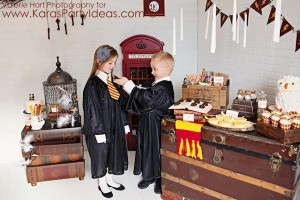 Harry Potter themed birthday party idea via Kara's Party Ideas | KarasPartyIdeas.com #harry #potter #decorations #printables #invitation #party #supplies #idea #cake #cupcakes #activities (30)