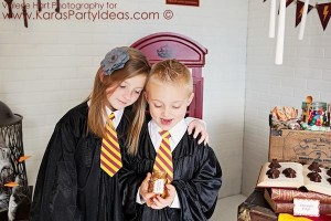 Harry Potter themed birthday party idea via Kara's Party Ideas | KarasPartyIdeas.com #harry #potter #decorations #printables #invitation #party #supplies #idea #cake #cupcakes #activities (28)