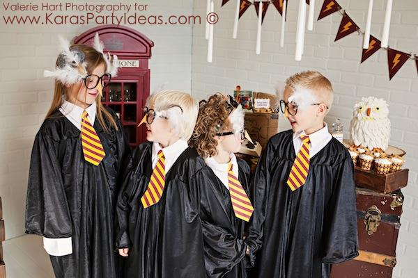 Harry Potter themed birthday party idea via Kara's Party Ideas | KarasPartyIdeas.com #harry #potter #decorations #printables #invitation #party #supplies #idea #cake #cupcakes #activities (23)