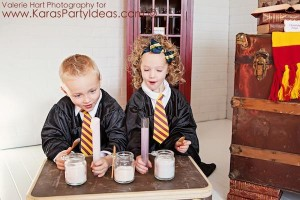 Harry Potter themed birthday party idea via Kara's Party Ideas | KarasPartyIdeas.com #harry #potter #decorations #printables #invitation #party #supplies #idea #cake #cupcakes #activities (18)