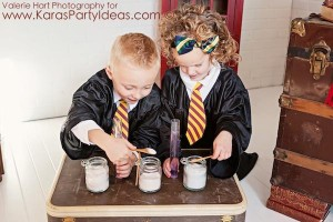 Harry Potter themed birthday party idea via Kara's Party Ideas | KarasPartyIdeas.com #harry #potter #decorations #printables #invitation #party #supplies #idea #cake #cupcakes #activities (17)