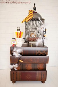 Harry Potter themed birthday party idea via Kara's Party Ideas   KarasPartyIdeas.com #harry #potter #decorations #printables #invitation #party #supplies #idea #cake #cupcakes #activities (93)