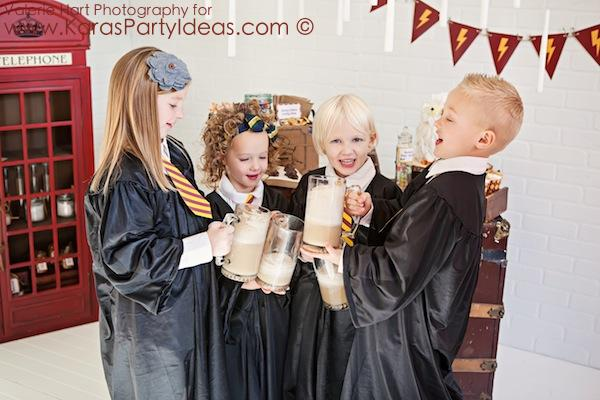 Harry Potter themed birthday party idea via Kara's Party Ideas | KarasPartyIdeas.com #harry #potter #decorations #printables #invitation #party #supplies #idea #cake #cupcakes #activities (11)