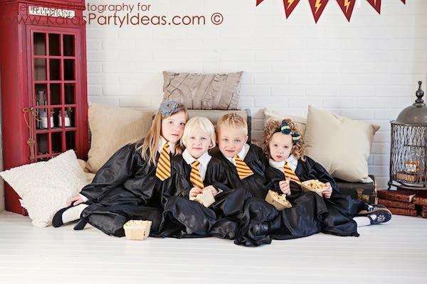 Harry Potter themed birthday party idea via Kara's Party Ideas | KarasPartyIdeas.com #harry #potter #decorations #printables #invitation #party #supplies #idea #cake #cupcakes #activities (4)
