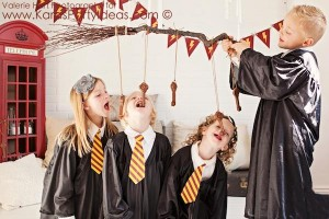 Harry Potter themed birthday party idea via Kara's Party Ideas | KarasPartyIdeas.com #harry #potter #decorations #printables #invitation #party #supplies #idea #cake #cupcakes #activities (3)