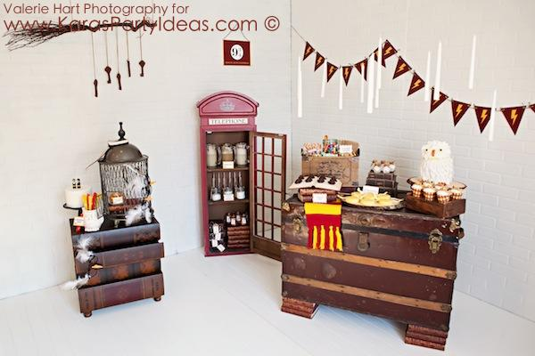 Kara's Party Ideas Harry Potter themed birthday party idea via Kara's Party Ideas ...
