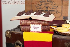 Harry Potter themed birthday party idea via Kara's Party Ideas | KarasPartyIdeas.com #harry #potter #decorations #printables #invitation #party #supplies #idea #cake #cupcakes #activities (85)