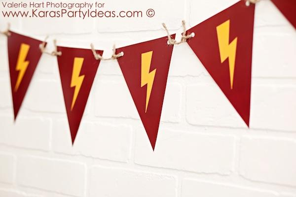 Karas Party Ideas Harry Potter Themed Birthday Party Idea Via - Birthday invitations harry potter printable