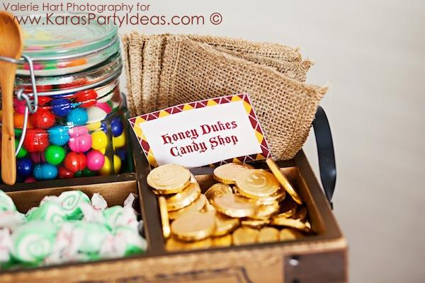 Harry Potter themed birthday party idea via Kara's Party Ideas | KarasPartyIdeas.com #harry #potter #decorations #printables #invitation #party #supplies #idea #cake #cupcakes #activities (73)