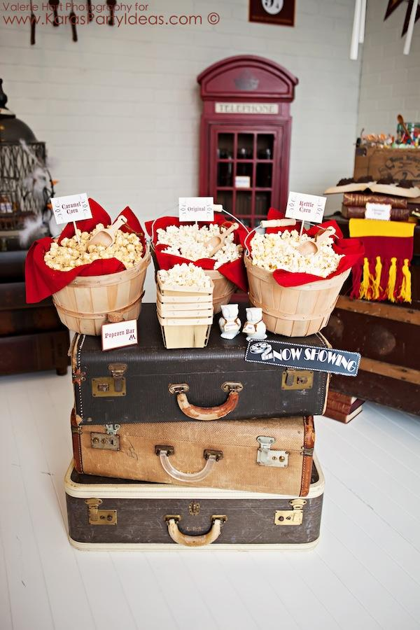 Harry Potter themed birthday party idea via Kara's Party Ideas | KarasPartyIdeas.com #harry #potter #decorations #printables #invitation #party #supplies #idea #cake #cupcakes #activities (97)