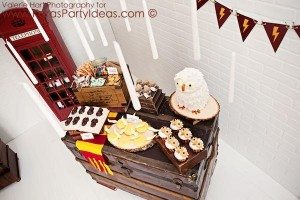 Harry Potter themed birthday party idea via Kara's Party Ideas | KarasPartyIdeas.com #harry #potter #decorations #printables #invitation #party #supplies #idea #cake #cupcakes #activities (65)