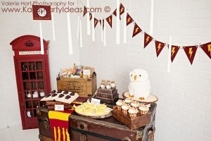 Harry Potter themed birthday party idea via Kara's Party Ideas | KarasPartyIdeas.com #harry #potter #decorations #printables #invitation #party #supplies #idea #cake #cupcakes #activities (64)