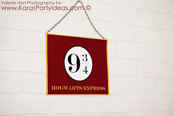 Harry Potter themed birthday party idea via Kara's Party Ideas | KarasPartyIdeas.com #harry #potter #decorations #printables #invitation #party #supplies #idea #cake #cupcakes #activities (54)