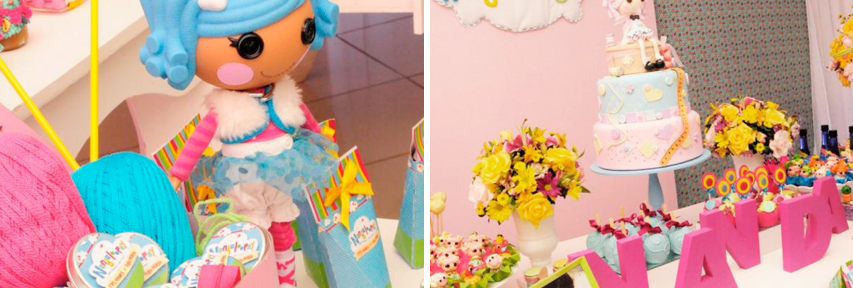 LalaLoopsy themed birthday party via Kara's Party Ideas KarasPartyIdeas.com #lalaloopsy #nanjaloopsy #birthday #party #ideas #cake #supplies #idea #favors #table #dessert (1) (1)