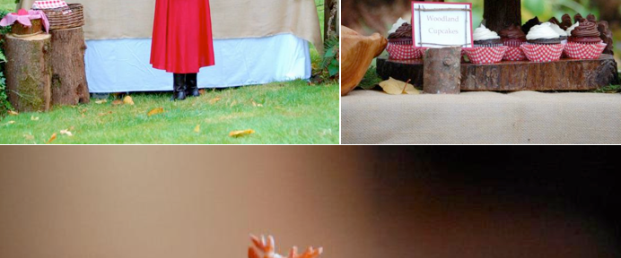 Little Red Riding Hood Birthday Party via Kara's Party Ideas #storybook #party #idea